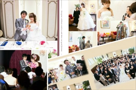結婚式撮影の出張撮影からアルバム編集制作まで、名古屋市周辺でご対応。 ~アナログなアルバムの大切さを【グリーンクス】が解説~。結婚式撮影のイメージ画像
